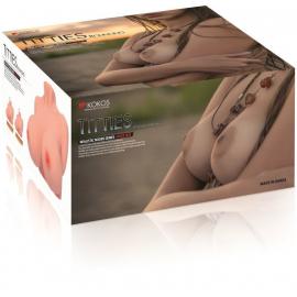 Мастурбатор-грудь Kokos Bouncing Titties F