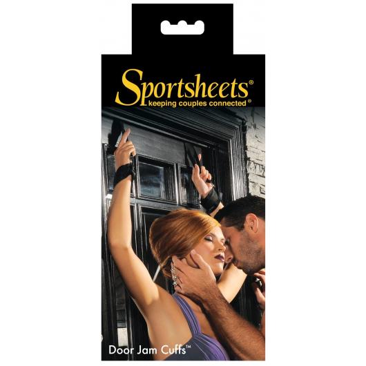 Подвески на двери с наручникам Sportsheets Door Jam Cuffs