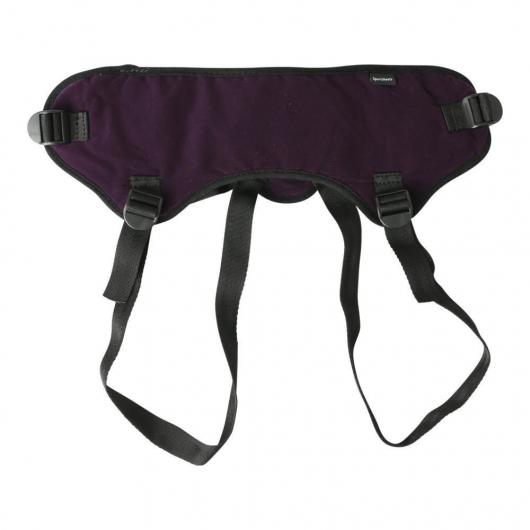 <![CDATA[Трусы для страпона Sportsheets - Lush Strap On Purple]]>